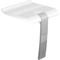ARSIS shower seat, White & Mat Grey - 047731