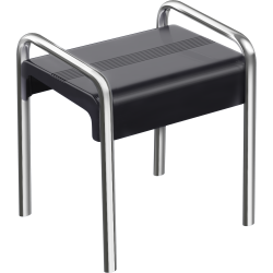 ARSIS shower stool, Anthracite grey & Mat Grey - 047774
