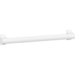 ARSIS straight grab bar, 500 mm, White Epoxy-coated Aluminium - 049850