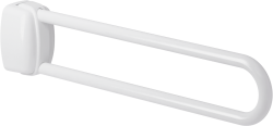 Barre relevable 770 mm époxy blanc - 048880