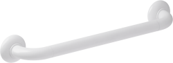 ERGOSOFT straight grab bar, 500 mm, White Polyalu, tube Ø 33 mm - 046155