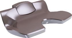 Siege de douche Ergosoft Relevable blanc et taupe, Fixe - 047680
