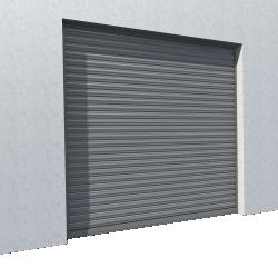 Rideau metallique Murax 110 galvanise