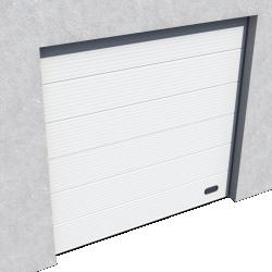 Porte Industrie Micro rainuree Ral 9010 Levee Normale et Levee Haute