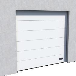 Porte Industrie veinee bois Ral 9010 Levee Normale et Levee Haute