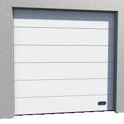 Porte Industrie Micro rainuree Ral 9010 Levee Normale en Pente