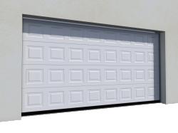 012 Porte basculante SAFIR S400 Iso avec cassettes blanches
