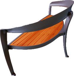 Nastra wooden bench