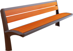 Vesta wooden bench