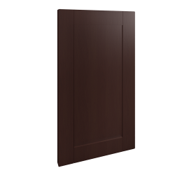 Front For Dishwasher Wood Effect Brown
