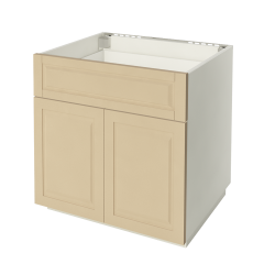 METOD MAXIMERA Base Cabinet with 2 Doors 2 Drawers White Ringhult White