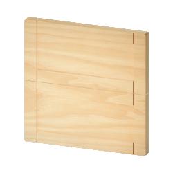 METOD Wall Cabinet Horizontal White Veddinge Grey
