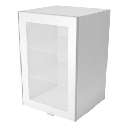 METOD FORVARA Wall Cabinet with Doors 2 Drawers White Ringhult White