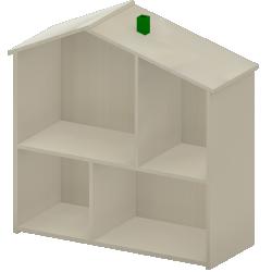 FLISAT Doll House