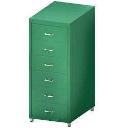 HELMER Drawer Unit with Casters