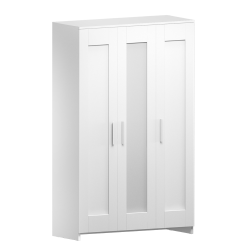 RIMNES Wardrobe with 3 Doors