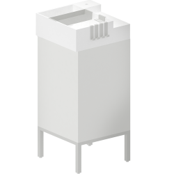 LILLANGEN Washbasin Unit with 1 Door