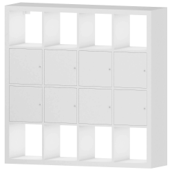 KALLAX Shelf with 8 Accessories Big White 147x147