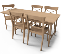 Leksvik Dining Table