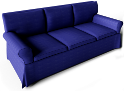 Ektorp Sofa Dark Blue