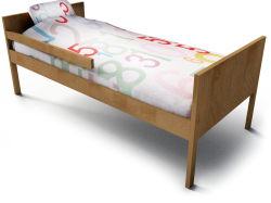 Kritter Child Bed