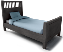 Hemnes Single Bed Frame Small