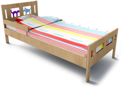 Kritter Bed Frame And Guard Rail