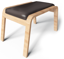 Paong Footstool
