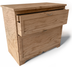 Aspelund Chest of 2 Drawers
