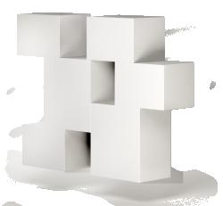 BESTA Storage Combination with Door