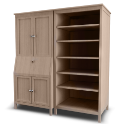 Secretary with Add on Unit and Bookspace