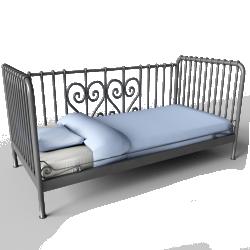 Meldal Single Bed