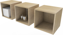 Traby Shelf 3 Unit
