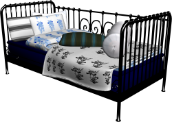 Meldal Single Bed 02
