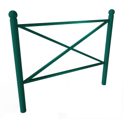 SYNERGIE Barrier - Round posts