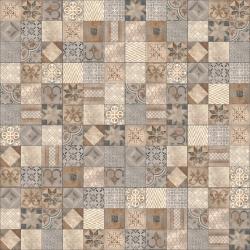Dalle Jardin Design Mosaic Arabica