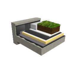 Accessible Canopia Jardin insulation multi use Silver concrete