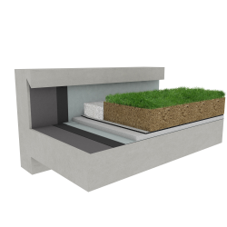 Green roof Canopia Expert multi use concrete