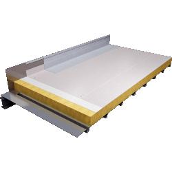 Self protected Roof PVC on steel pan