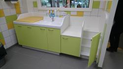 Standcreche 150 Washbasin