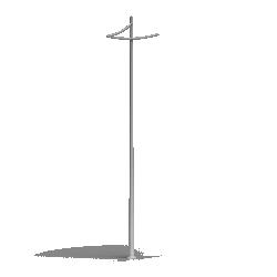 Aluminium column SAL P85