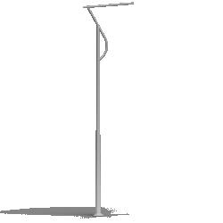 Aluminium column SAL P 71