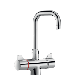 H9726 SECURITHERM thermostatic basin mixer