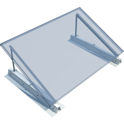ROOF-SOLAR TILTED PVC - PV mounting system for flat roofs