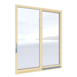 Tilt and slide door Inova