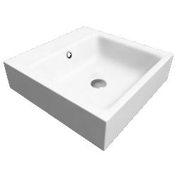 PURO Wall hung washbasin 460x460
