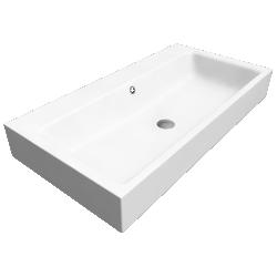 PURO Wall hung washbasin 460x900