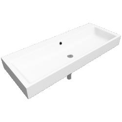 PURO Countertop double washbasin 460x1200