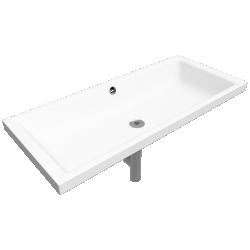 PURO Inset Countertop washbasin 385x900