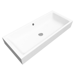 PURO S Countertop washbasin 385x900